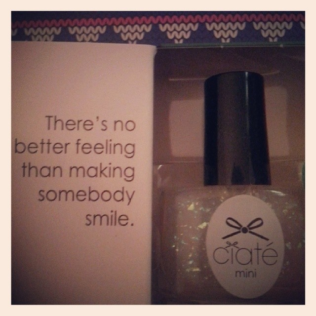 Day 1: Ciate Mini Mani Advent Calendar