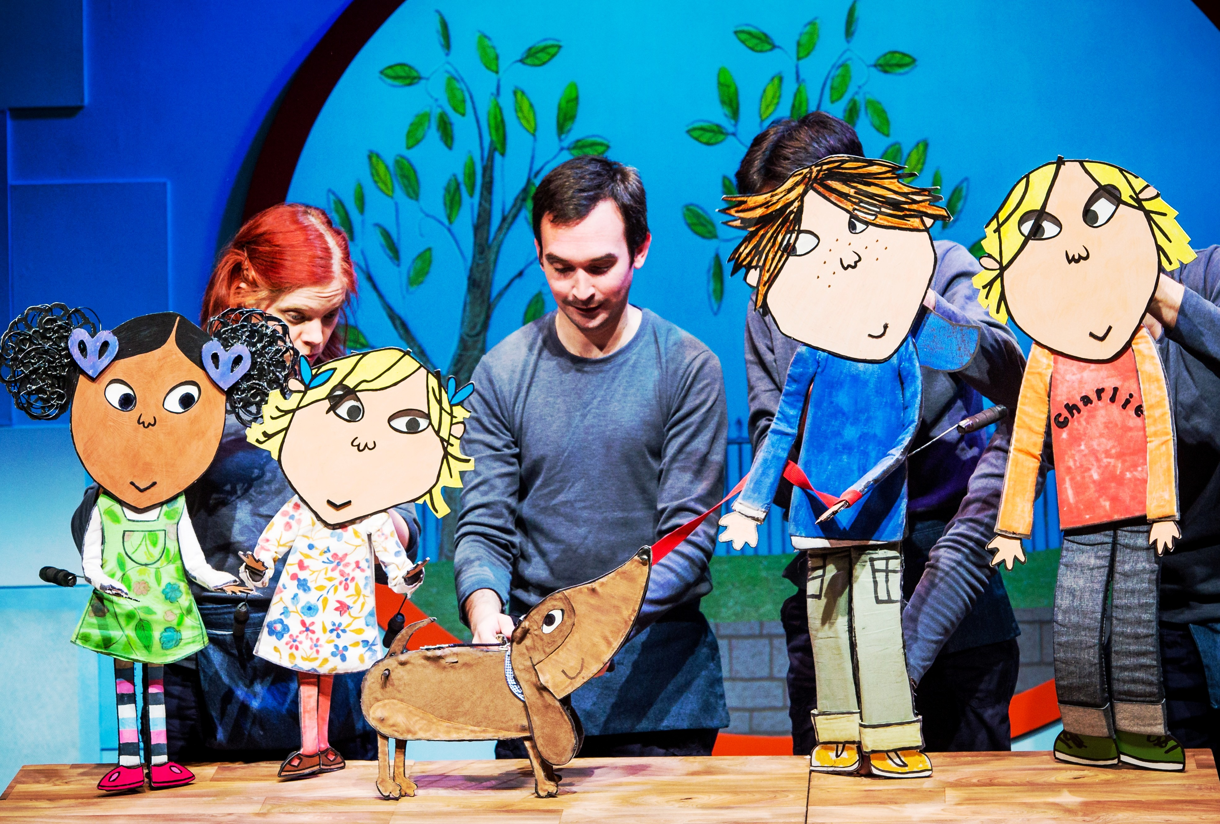 Giveaway: Charlie And Lola Extremely New Play Tickets