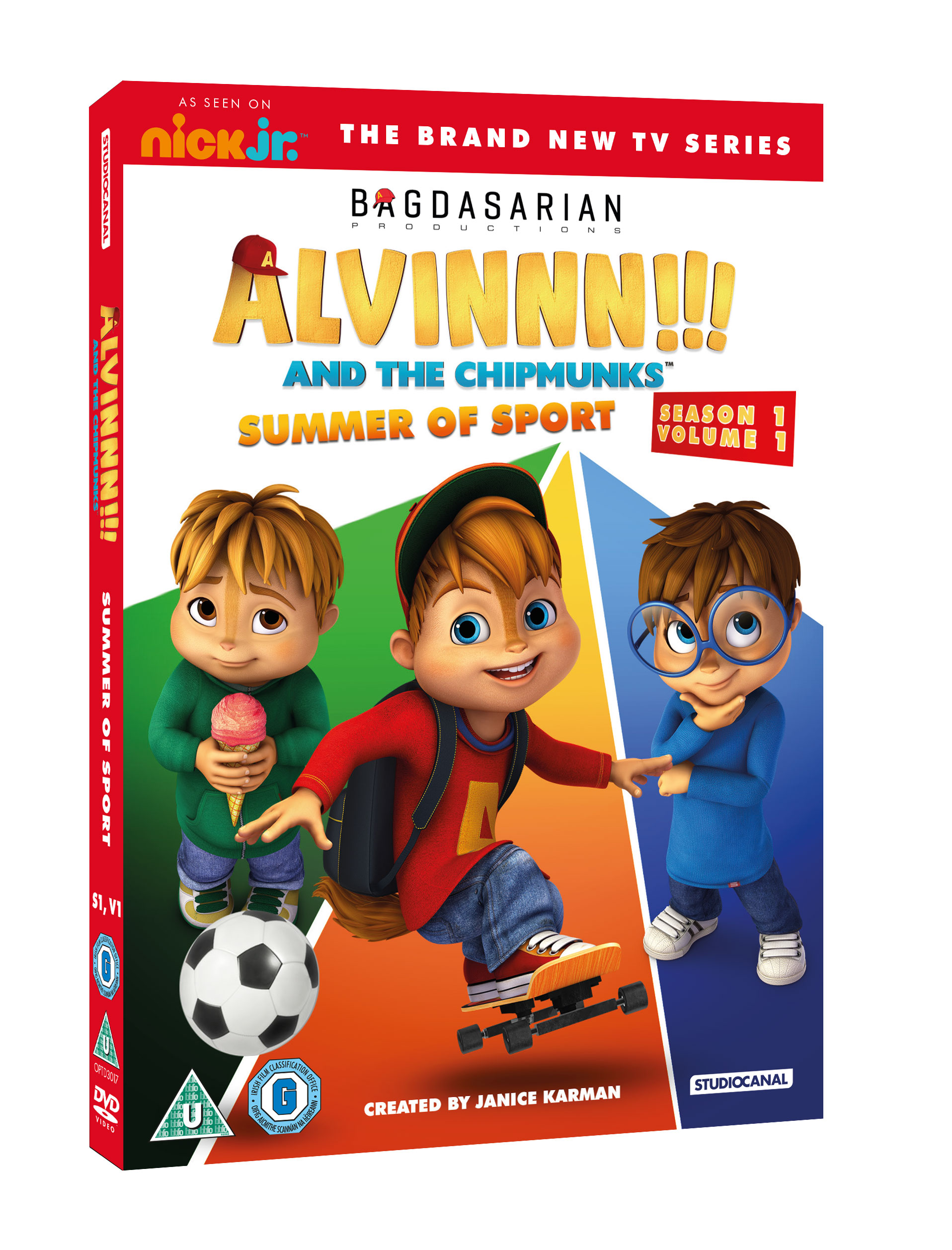 Giveaway: Alvin!!! And The Chipmunks Summer of Sport DVD
