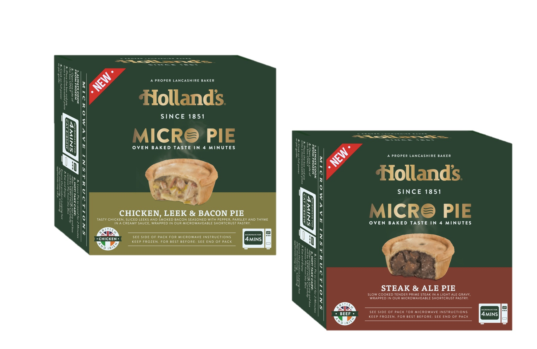 Giveaway: Win The Micro Pies Range From Holland's Pies
