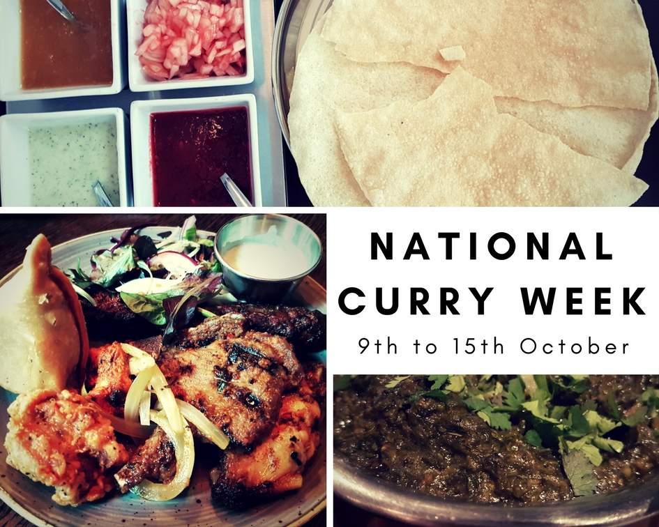 Celebrate National Curry Week in Manchester