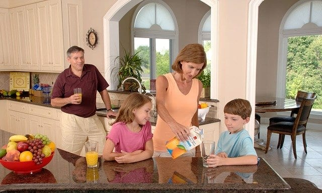 what makes a family home